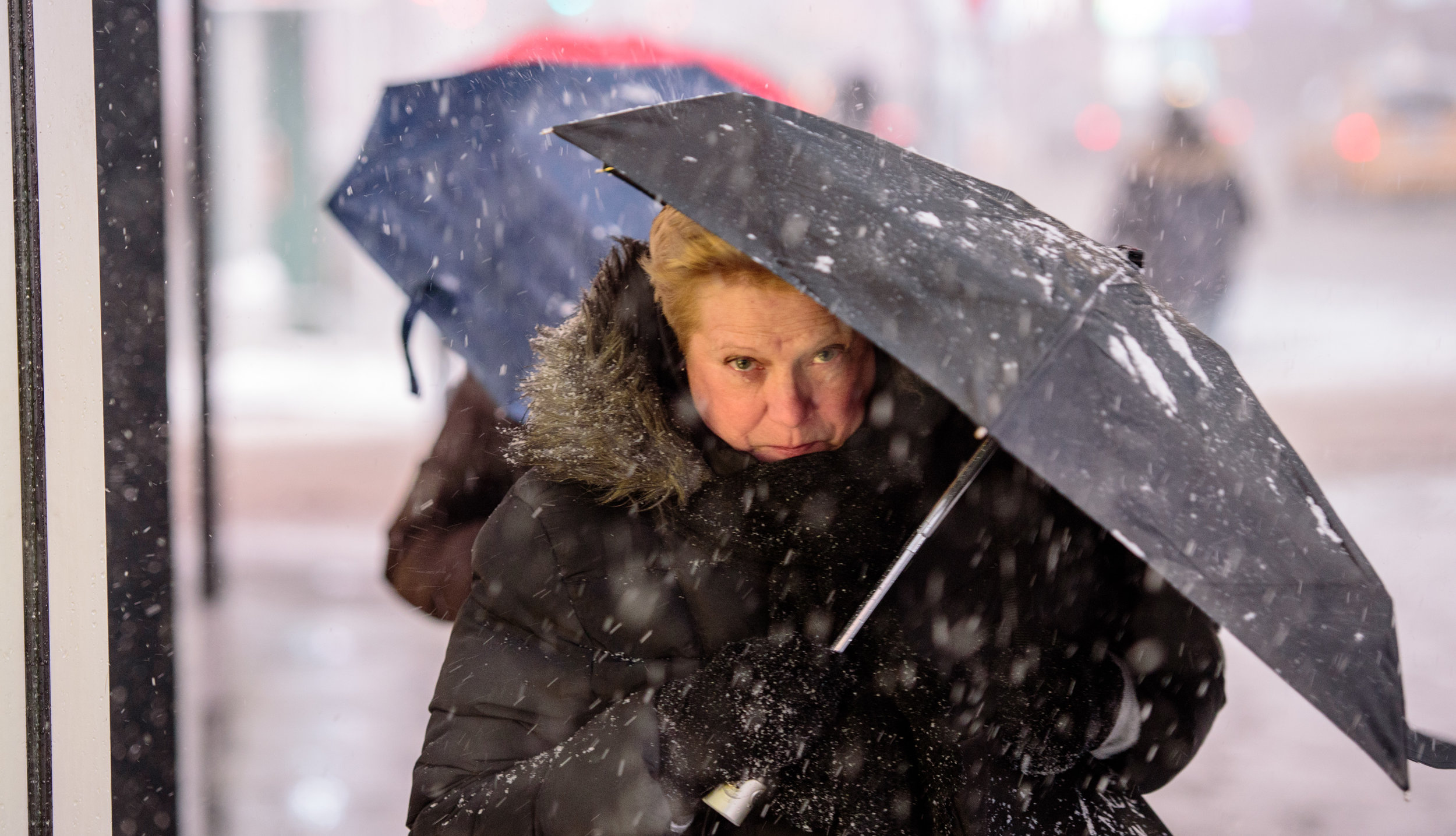 Winter storm blasts New York City