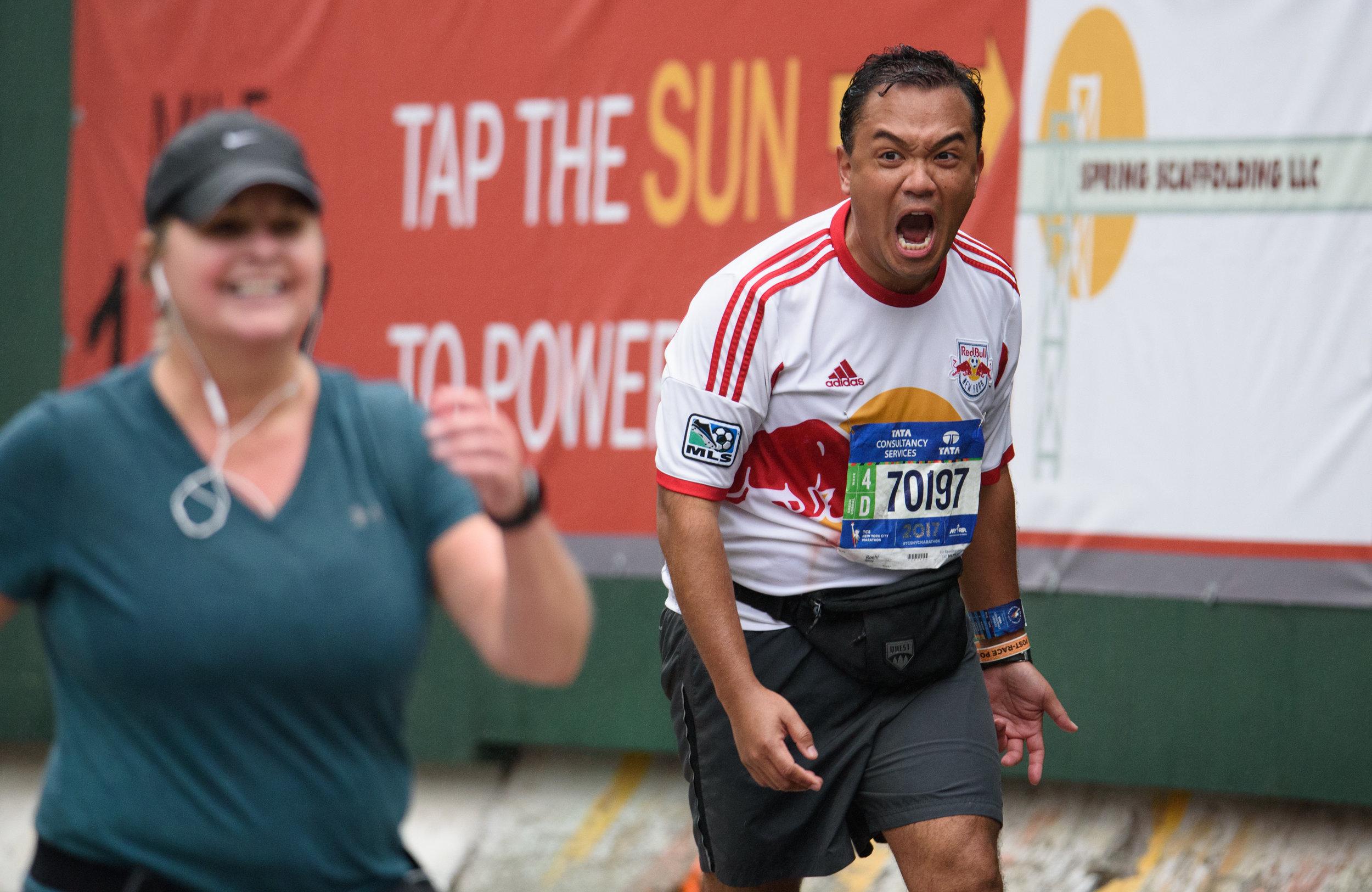 Marathon excitement [November 5]