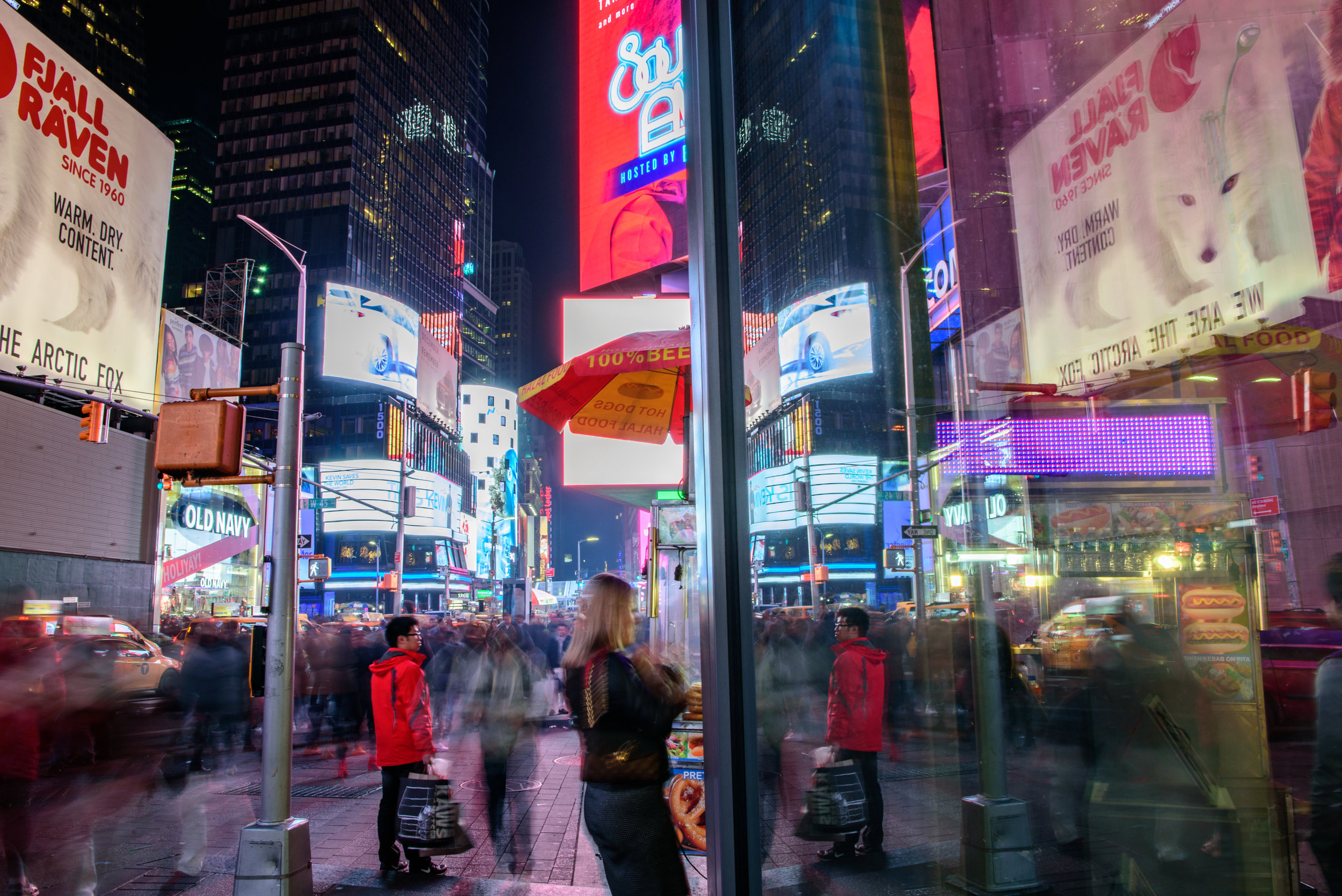 Stop motion in Times Square [November 26]