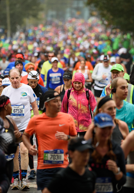 A sea of runners [November 5]