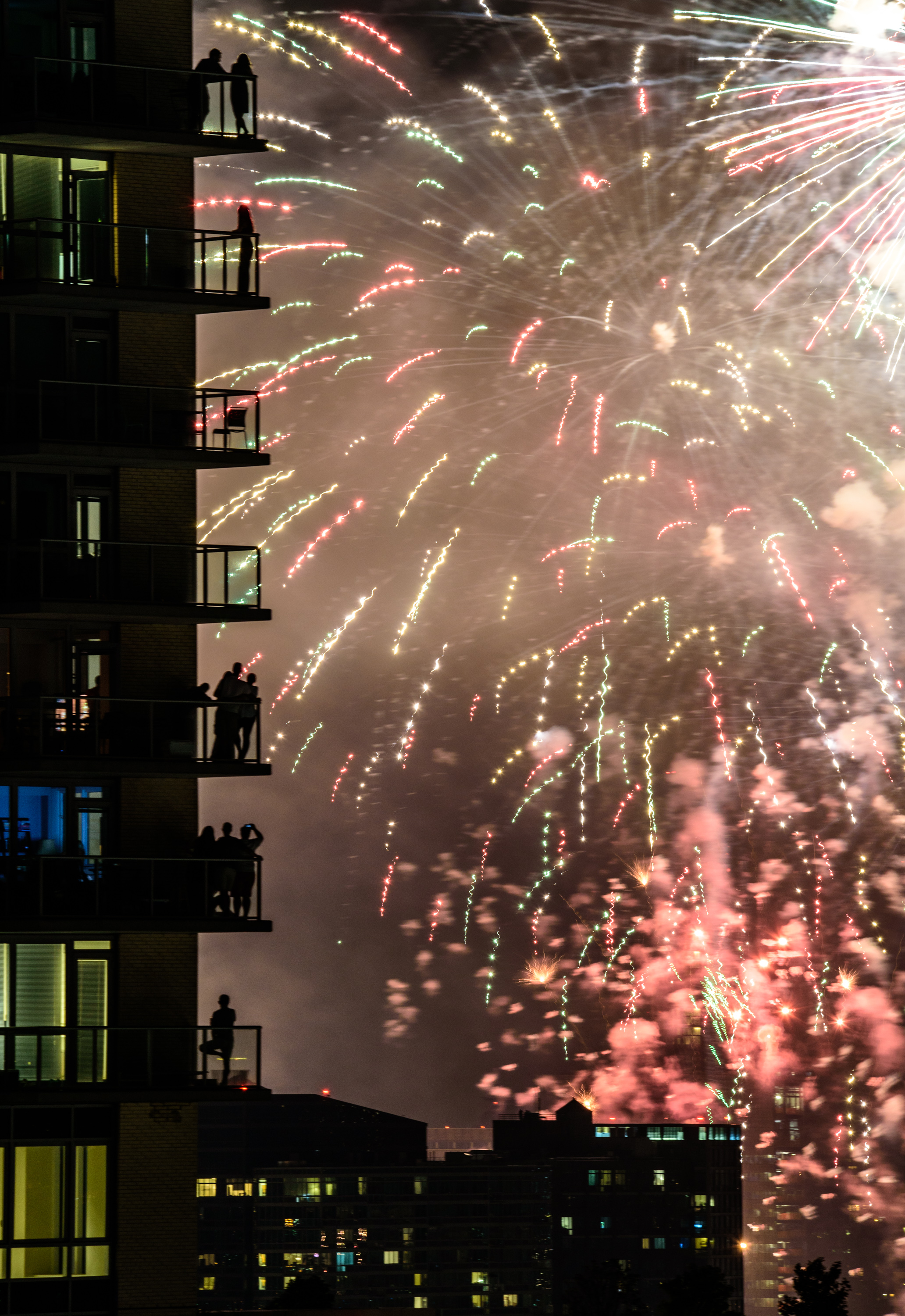 2017 NYC 4th of July fireworks