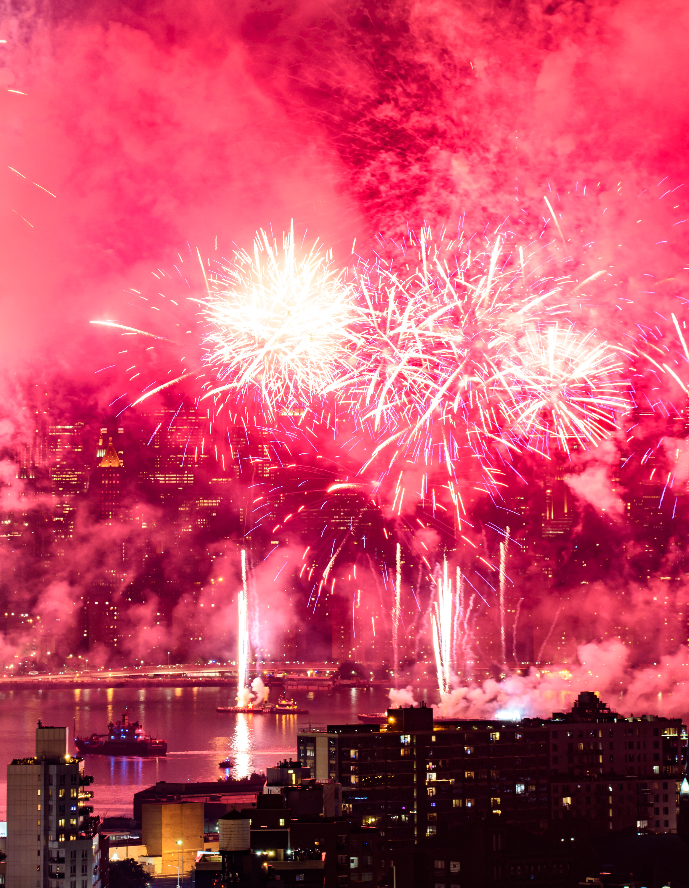 2018 NYC 4th of July fireworks