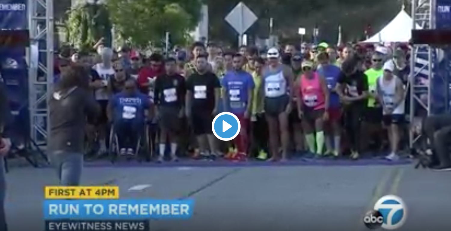 LA's Run To Remember honors fallen first responders