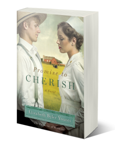 PROMISE TO CHERISH (The PROMISE OF SUNRISE, Book 2) - As World War II draws to a close, nurse Christine falls in love with roguish Amish boy Eli and must choose between a new, uncertain life in the Amish faith or face the judgment of a conservative postwar American society for her past mistakes.