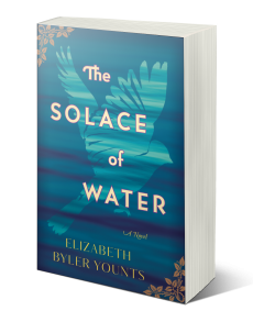 "The solace of water - ""Younts has set herself apart with this exquisite story of friendship and redemption . . . I'll be talking about this book for years to come."" —Rachel Hauck, New York Times bestselling author of The Wedding DressThe Solace of Water offers a glimpse into the turbulent 1950s and reminds us that friendship rises above religion, race, and custom—and has the power to transform a broken heart."