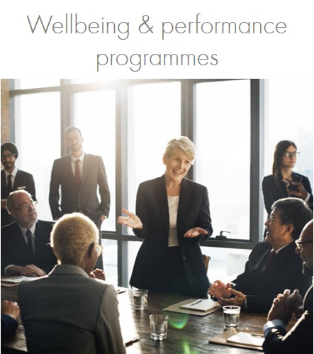 We can work with you to design and develop more long-term employee/leadership wellbeing and performance programmes.  Programmes can be short, or more long term. We have close partnerships with game-changing neuro-. bio-feedback and integrative medicine specialists and can also develop individual, preventative high impact senior leadership programmes.