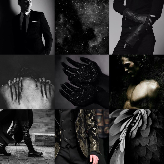 Rhysand. - a.k.a. the feminist hero I never knew I needed... I could make a thousand aesthetics of Rhys and still not feel like I've truly captured him. But here at least is his darkness, his wings, his pain and his smirky/purry face. Lol. And yes, I would totally dream cast Tom Hiddleston as Rhys. That guy is pure gentleman through and through!