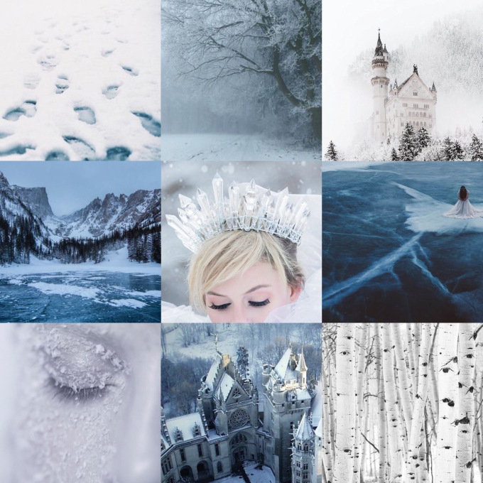 The Winter Court. - Home of the gorgeous snow-queen Viviane who should TOTALLY be made high lady she deserves it after keeping her entire court safe through Amarantha's reign surely??!