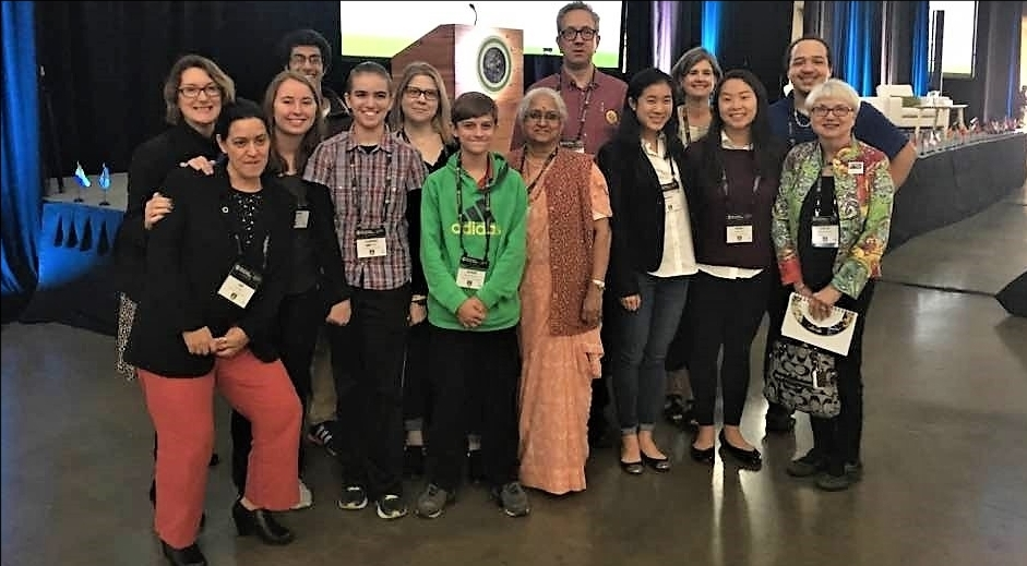 Pittsburgh attendees at The Climate Reality Leadership Corps Training, Pittsburgh, October 2017