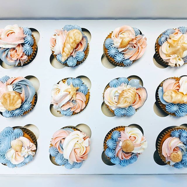 Look at this stuff, isn't it neat? Wouldn't you think this gluten-free mermaid cupcake collection is complete? 🎶🧜🐚 😁 . . . . . . . . . . #SweetDiplomacy #Cupcake #Cupcakes #mermaidcupcakes #mochicupcake #glutenfreecupcakes #mochicupcakes #cupcakeoftheday #glutenfreepatisserie #cupcakesofinstagram #cupcakelove #cupcakedecorating #GlutenFree #GlutenFreeDesserts #GlutenFreeBakery  #GlutenFreeTreats #GlutenFreeCake #GlutenFreeBaking #BayAreaGlutenFree #BayAreaCakes #BayAreaEvents  #BayAreaDesserts #BayAreaEats #BayAreaCeliac #BayAreaSweets #BayAreaBakery #BestBayAreaBakery #SiliconValleyEvents #SiliconValleyEats #SiliconValleyCakes