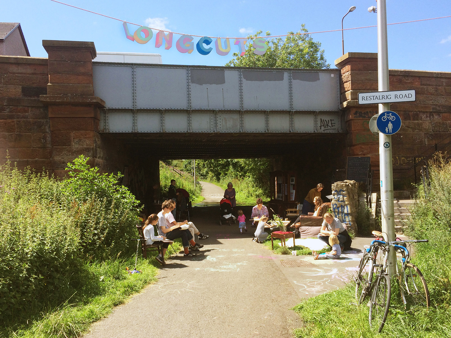 Civic Soup and their Longcuts project, Restalrig Road