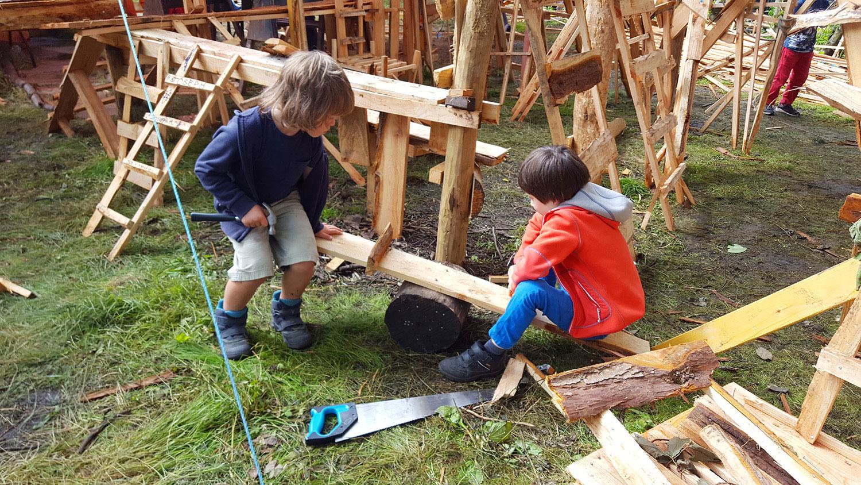 Woodland Tribe Edinburgh 2017
