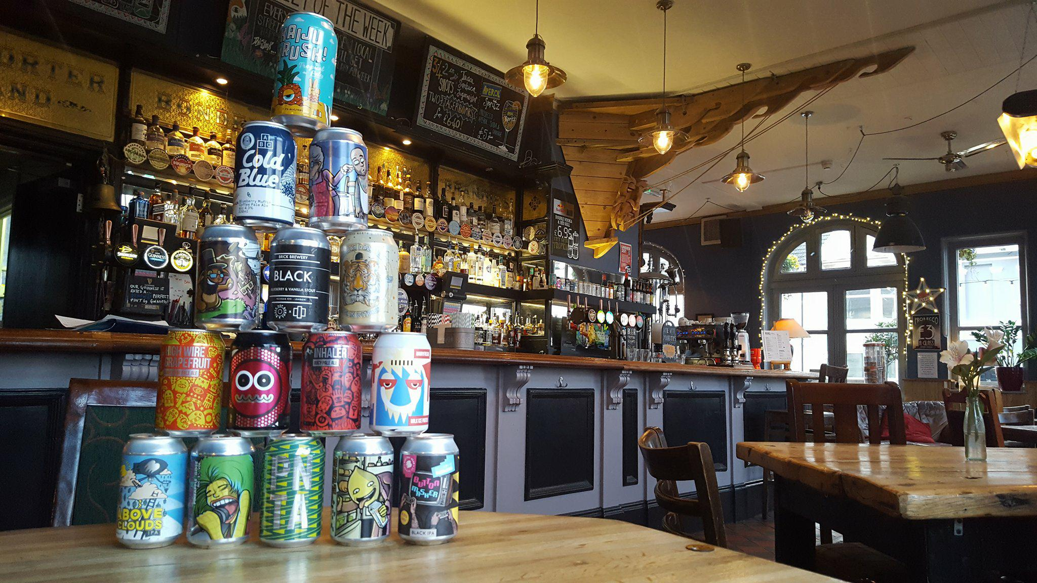 craft cans - We have A RANGE OF craft beers ON DRAFT AND in cans at any time, always changing, ALWAYS ACCOMMODATING A RANGE OF TASTES!
