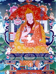 An heroic figure in the history of the Lelung lineage, the Fifth Lelung Rinpoche, Pema Zhepai Dorje, revealed many sacred teachings, wrote numerous manuscripts and built a new monastery in Lelung Valley