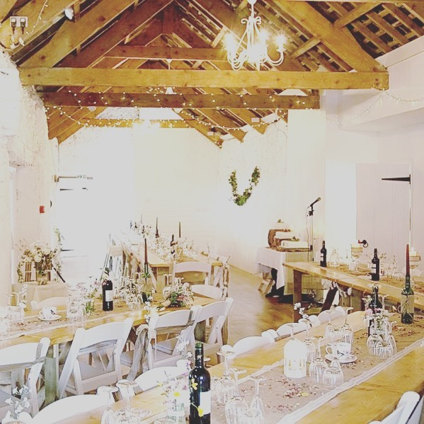 "Do love a barn wedding 👰🤵This'll be our venue on Saturday night. ""The Old Barn"", Higher Cloverly, North Devon wedding #weddingband #weddingbanddevon #devonweddingband #devon #devonwedding #southwest #southwestwedding #southwestweddingband #countryside #countrysideweddding #gig #weddinggig #livemusic #weddinglivemusic #functionband #livemusicwedding #weddingmusic #indie #rock #pop #barn #barnwedding #oldbarn"