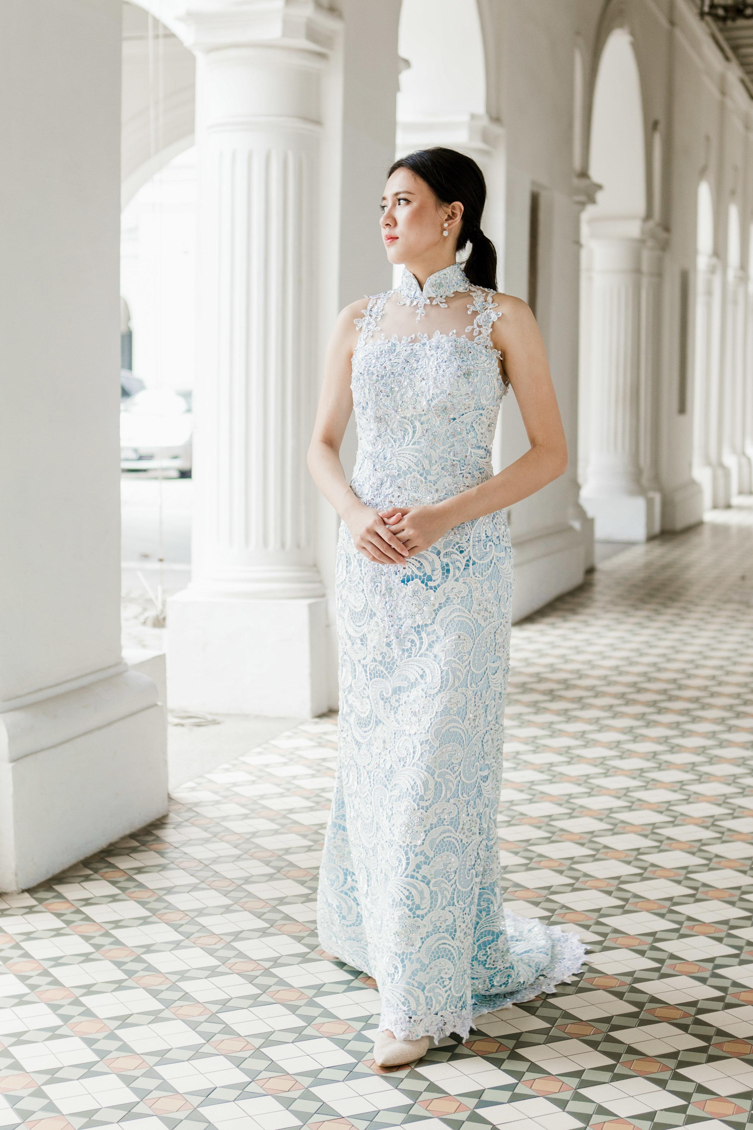 ccm wedding custom made cheongsam