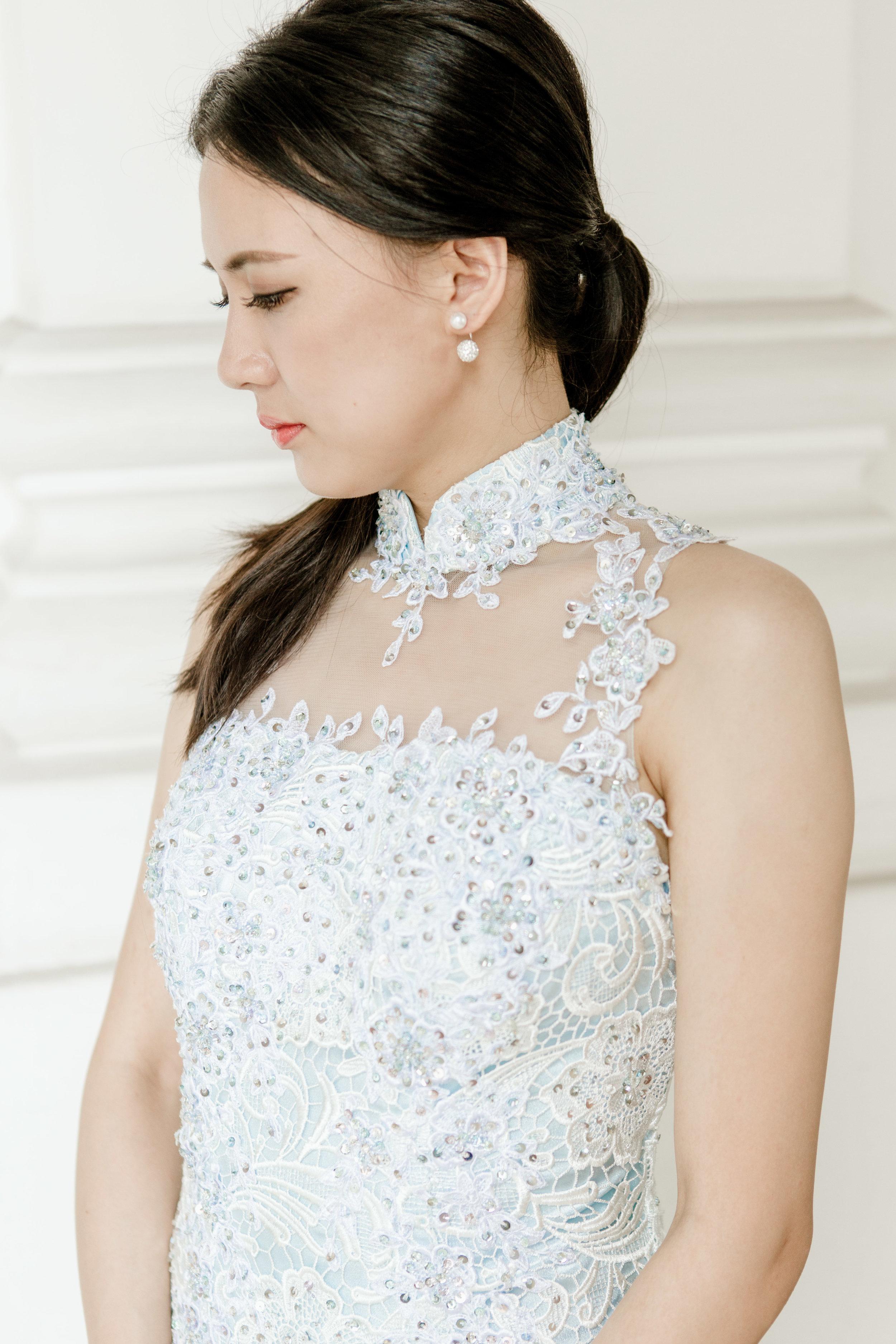 ccm wedding mandarin collar