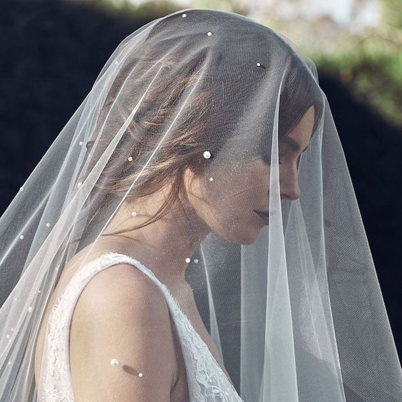 Customised Pearl Wedding Veil Singapore.jpeg