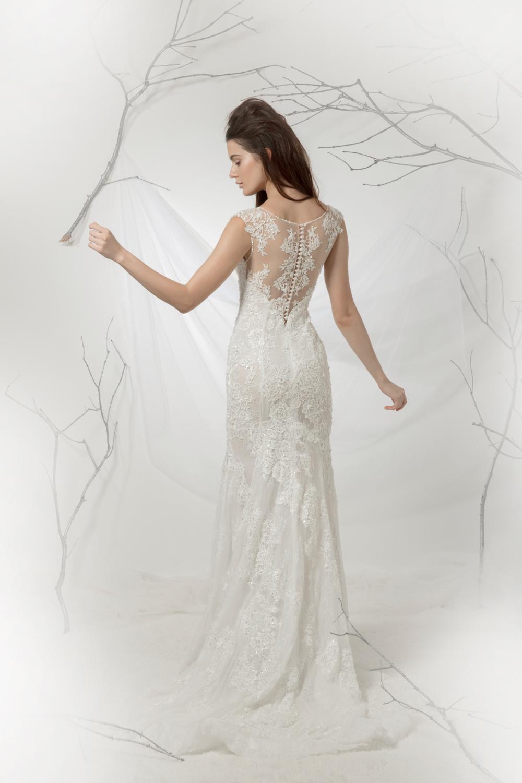 Button detail on wedding dress by CCM Wedding