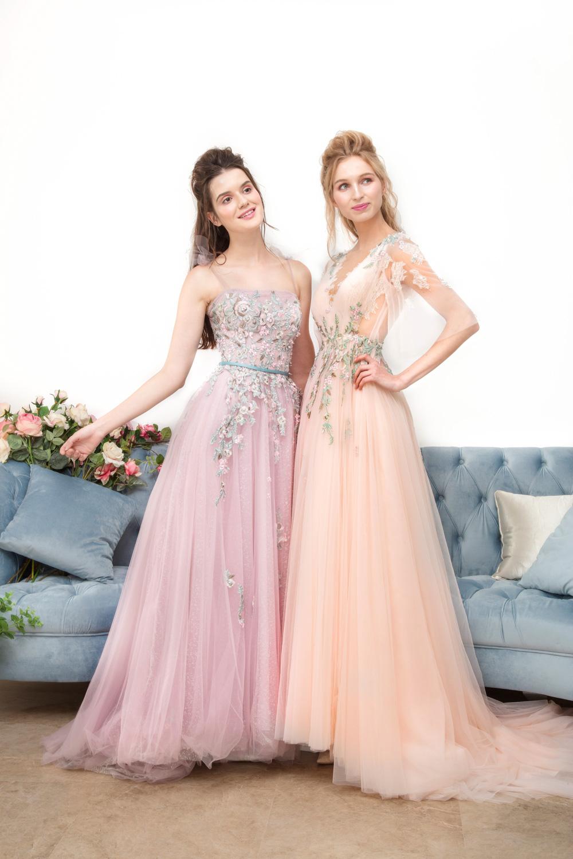 Evening dresses by CCM Wedding
