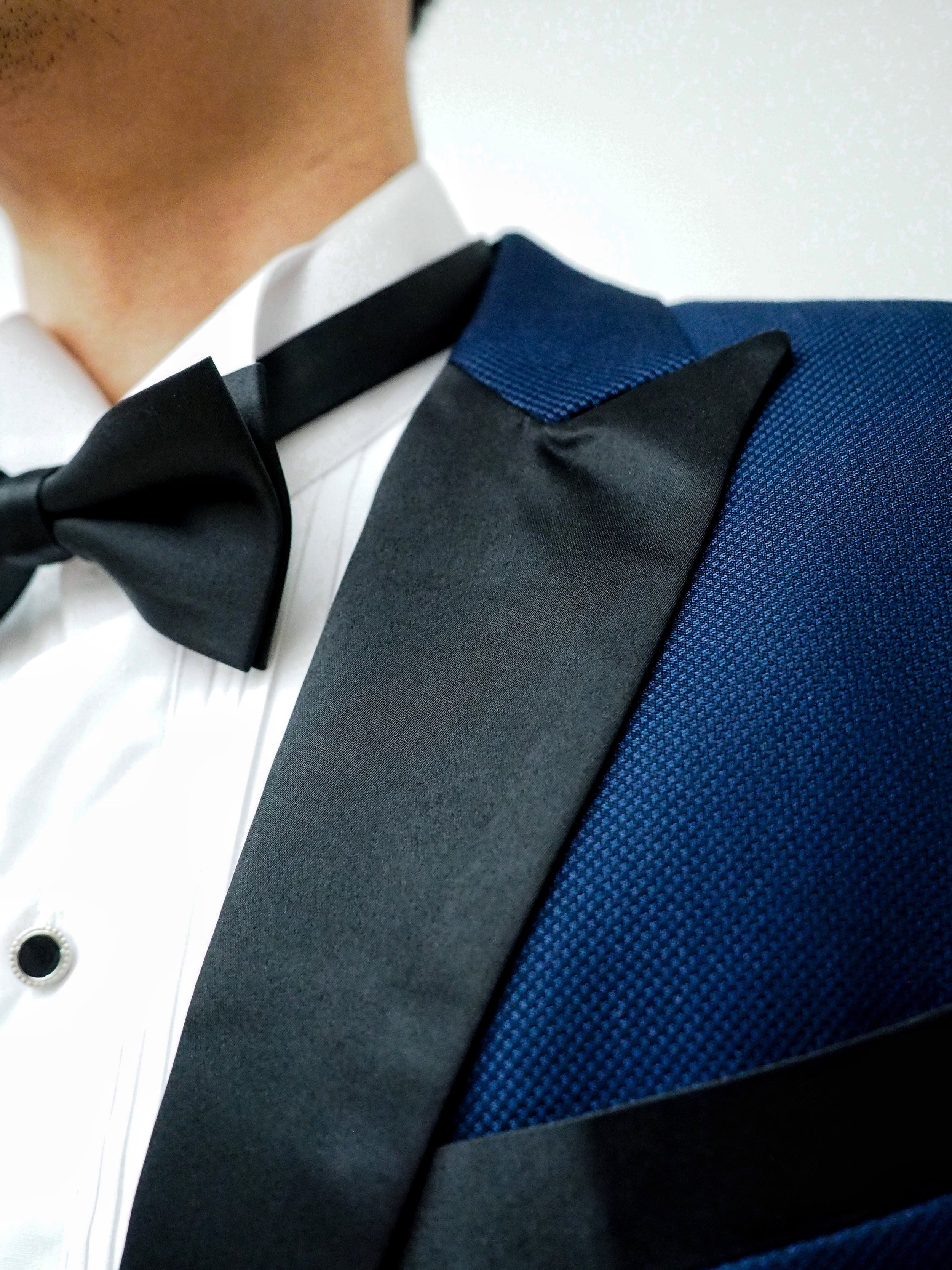 Close up of texture on suit by CCM Wedding