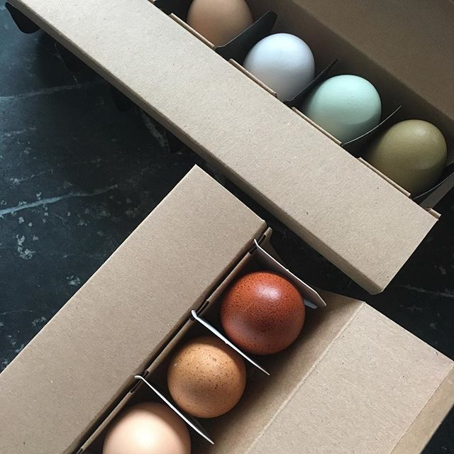 Packed up and ready to go. Thank you @rubinerscheesemongers for always finding room for our eggs!