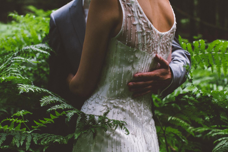 wedding in the woods / inspire styling / photo by oak&fir
