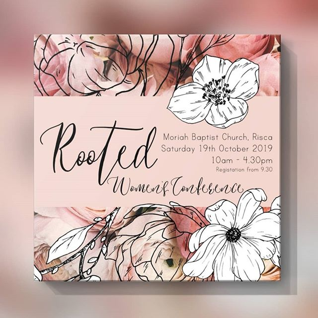 We are excited to be hosting 'Rooted' our first women's conference this October. Head to our website to find out more and book tickets.