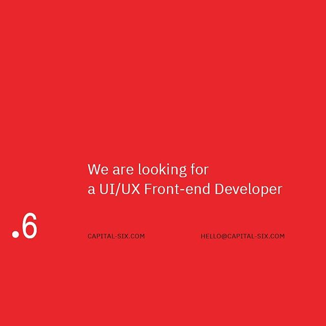 """We are looking for a UI/UX Front-end Developer who is experienced with tons of front-end jobs and who has eyes for good design. . Requirements: . - Experienced in preparing the UI/UX interface - HTML5, CSS3, jQuery and other libraries - Understand PHP and the MVC - Good eith Wordpress is a big bonus . The salary is negotiable depends on the qualifications. . Email us at hello@capital-six.com with subject """"UI/UX Developer"""""""