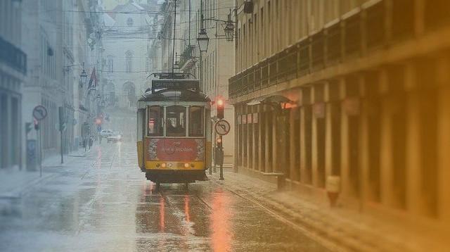 Visiter Lisbonne un jour de pluie n'est pas si mal !