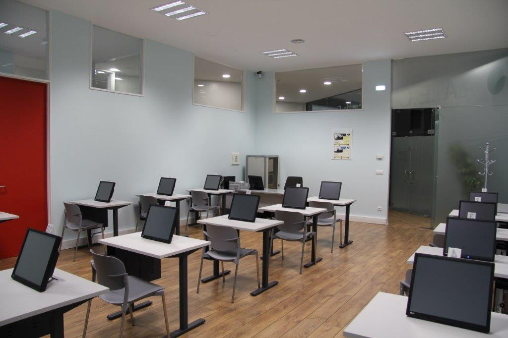 This is how looks like the exam room