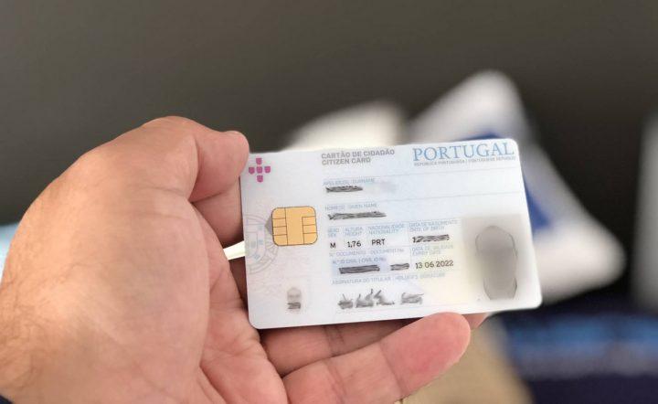 The cartão de cidadão for expats soudé arrived end of 2019