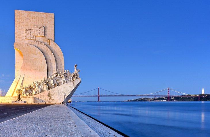 Le Monument des Découvertes nous ramène á l'époque des grands explorateurs portugais
