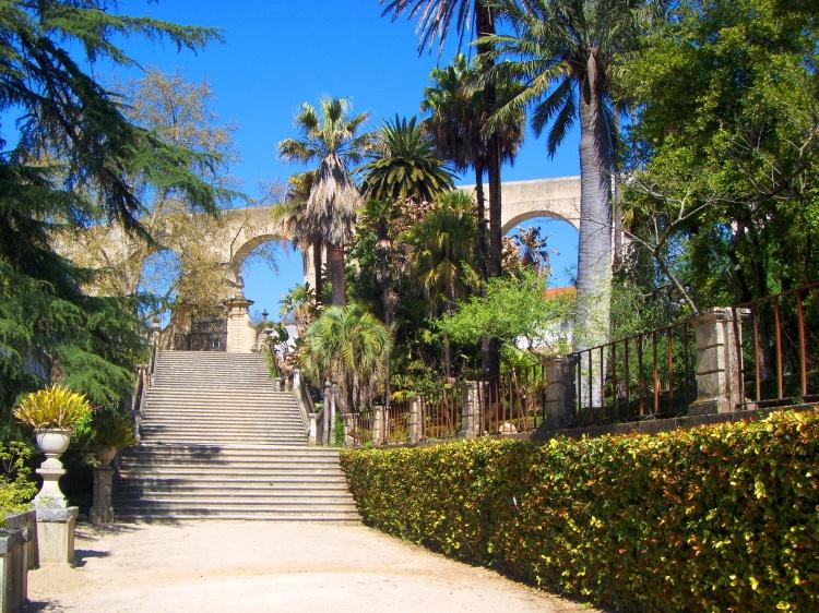 N'oubliez pas de passer par le jardin botanique de Coimbra