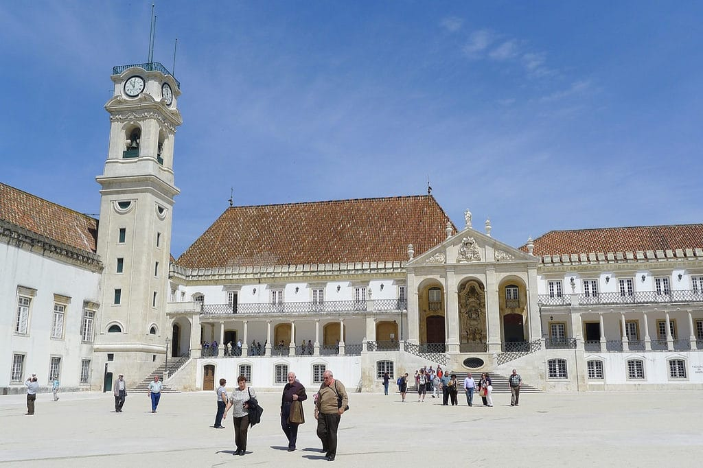 The University of Coimbra is absolutely gorgeous