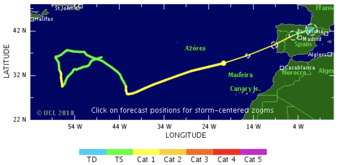 Waves expected at 12 meters on the Portuguese coast.