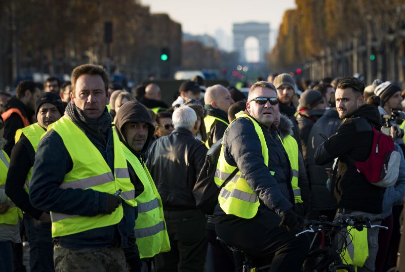Yellow Vests are moving to Portugal