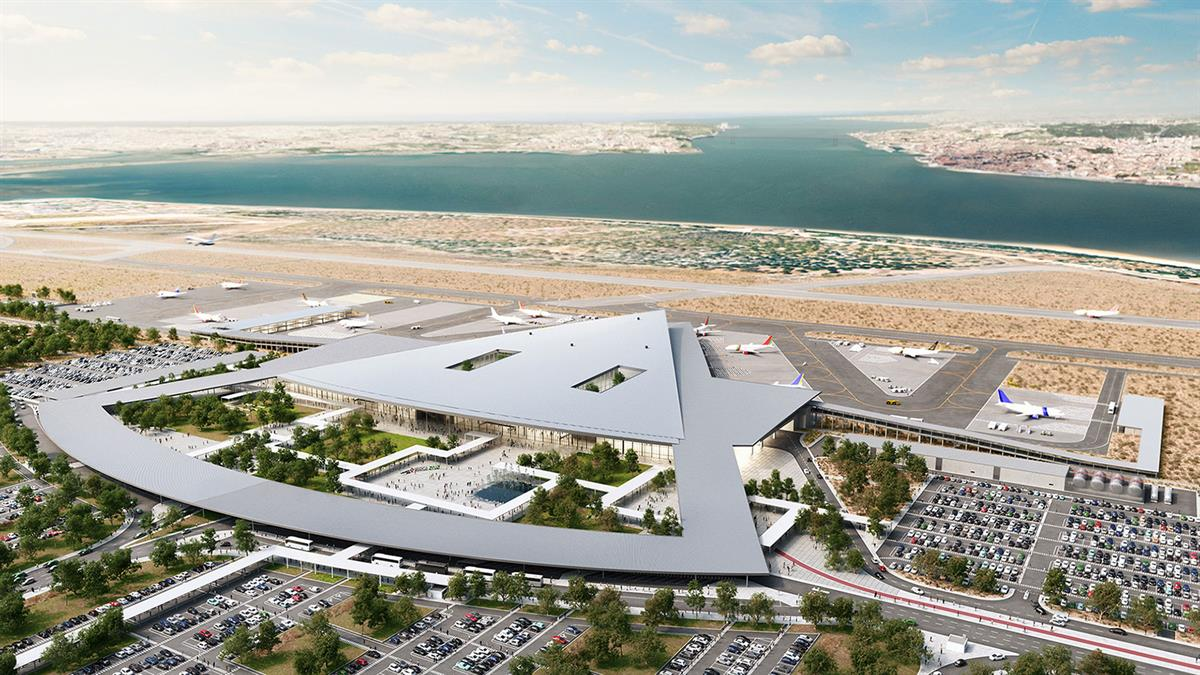 Photo of the new Lisbon Airport - Montijo: opening in 2022