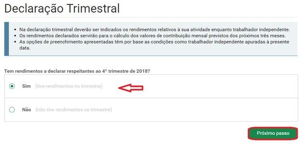 declaration freelancer portugal