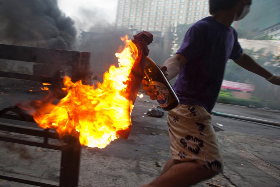 Le Portugal connait une crise de violence et la police est attaquée par des cocktails Molotov - Image d'illustration