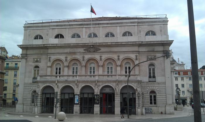 Le théâtre est une bonne option quand il pleut à Lisbonne