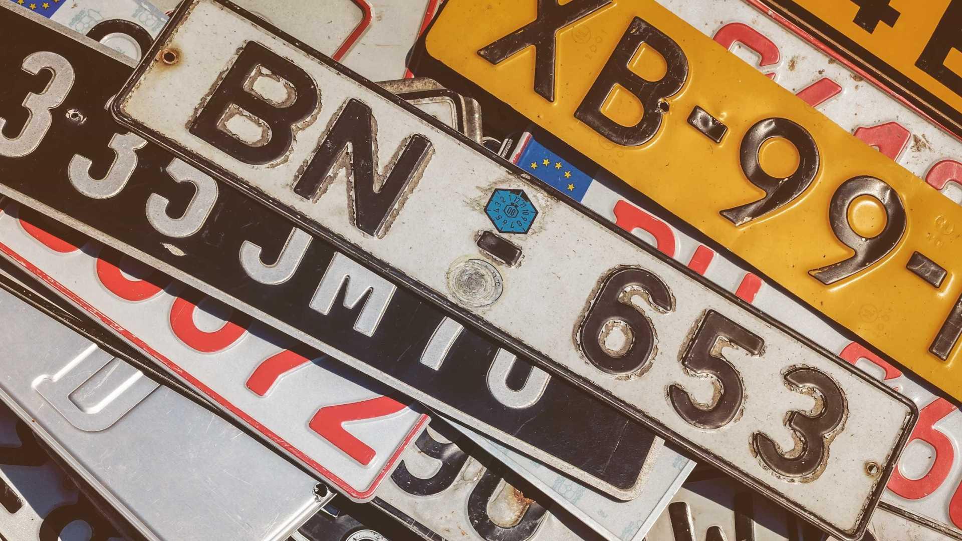 Le numéro d'immatriculation est l'information capitale pour connaître le propriétaire d'un véhicule
