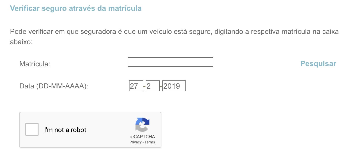 Il vous suffit d'indiquer le numéro d'immatriculation et la date pour laquelle vous souhaitez des informations sur l'assurance d'un véhicule