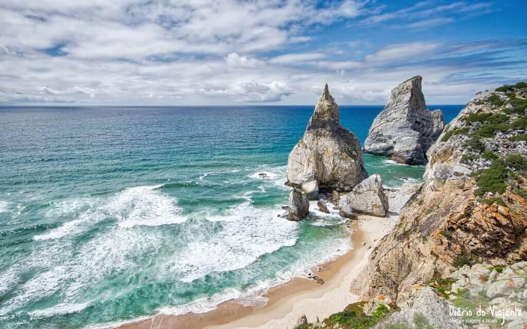 Praia da Ursa est l'une des plus belles plages pour faire du naturisme et du nudisme au Portugal