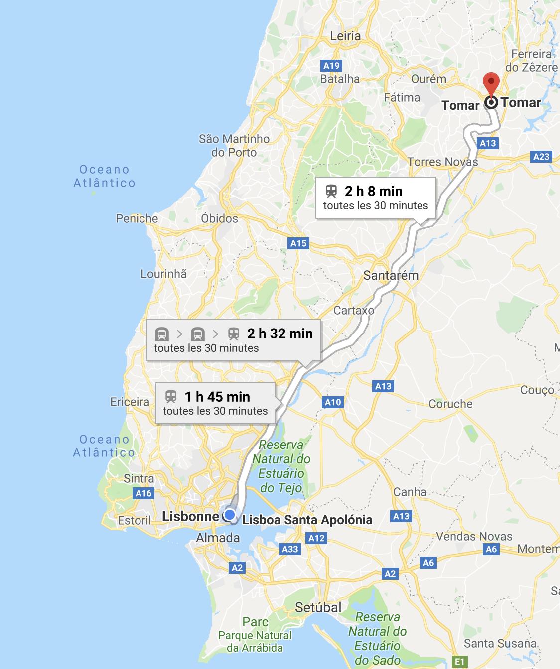 visiter Tomar Portugal