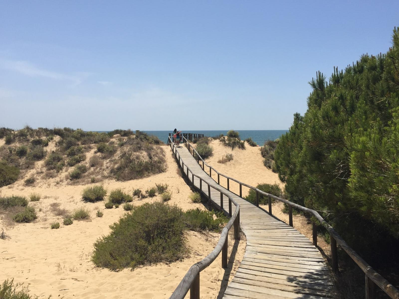 Punta Umbría - Plage nudiste et naturiste de Los Enebrales