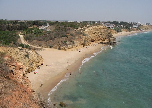 Conil de la Frontera - Plage nudiste Cala de Camacho et Calas del Quinto