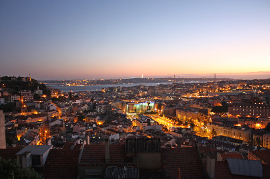 When visiting Lisbon, you must visit the Mirador da Senhora do Monte