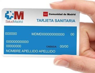 Voici la Tarjeta Sanitaria de la sécurité sociale Espagnole