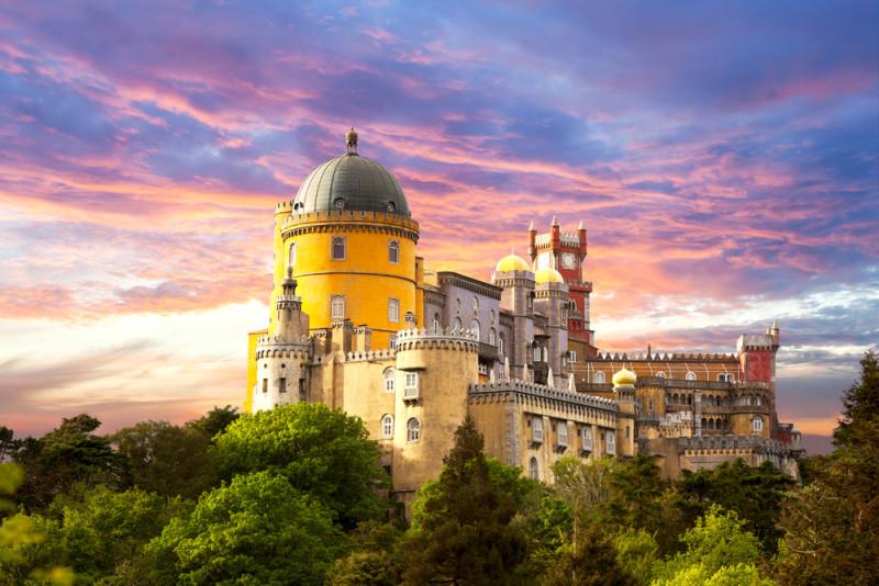 Entre le Parc et le Palais da Pena, il sera possible de se croire dans un conte de fée